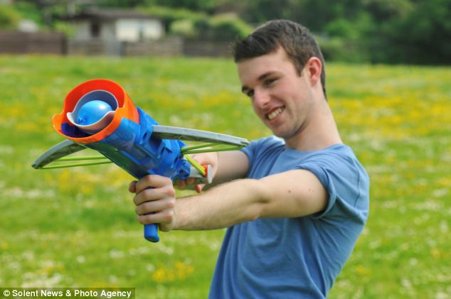 New Toy Crossbow That Launches Water Balloons Up To 80 Feet Chevy