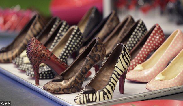 Chocolate High Heels
